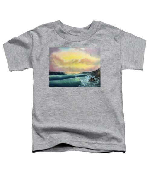 Sunset Beach Toddler T-Shirt