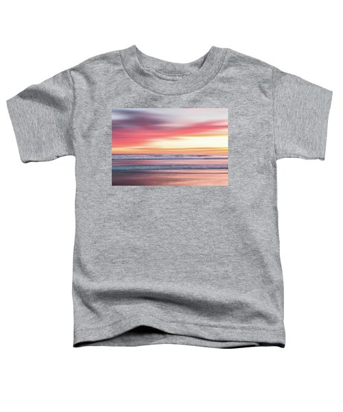Sunset Blur - Pink Toddler T-Shirt