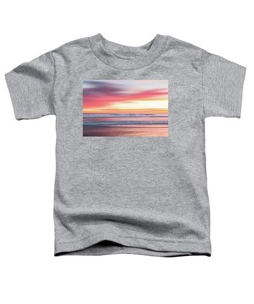 Sunset Blur - Pink Toddler T-Shirt