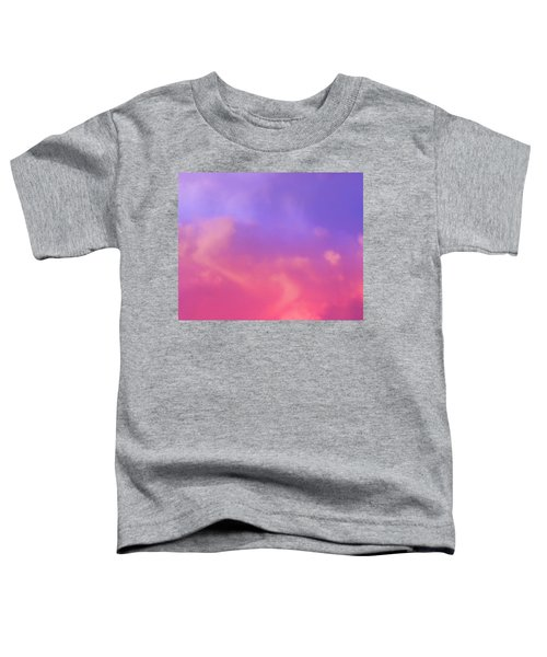 Sunset Clouds Toddler T-Shirt
