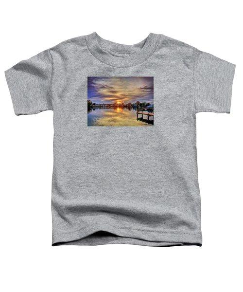 Sunset Creek Toddler T-Shirt