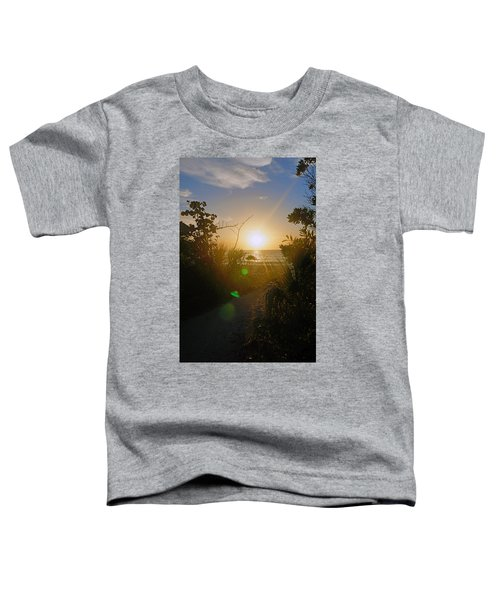 Sunset In Naples At Barefoot Beach Toddler T-Shirt