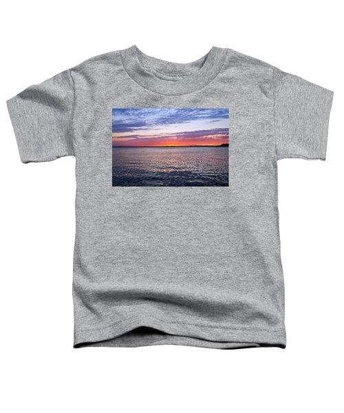 Sunset On Barnegat Bay I - Jersey Shore Toddler T-Shirt