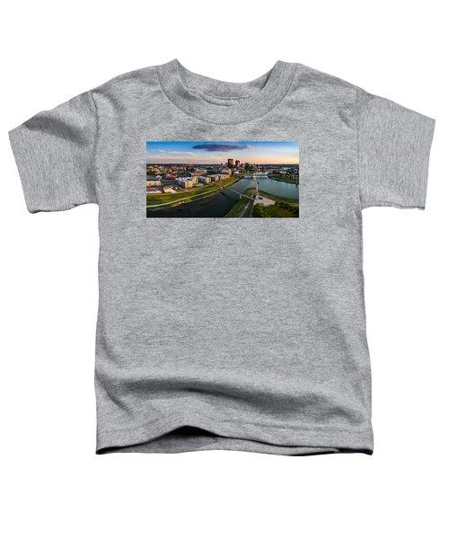 Sunset On Dayton Toddler T-Shirt