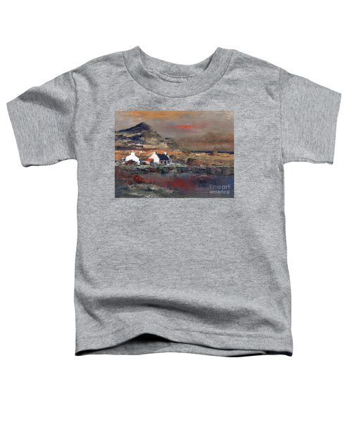 Sunset On Mount Errigal, Dunegal Toddler T-Shirt