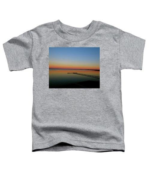 Sunset On The Pier Toddler T-Shirt