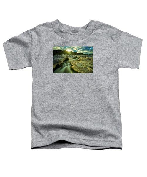 Sunset Over The Cascade Toddler T-Shirt