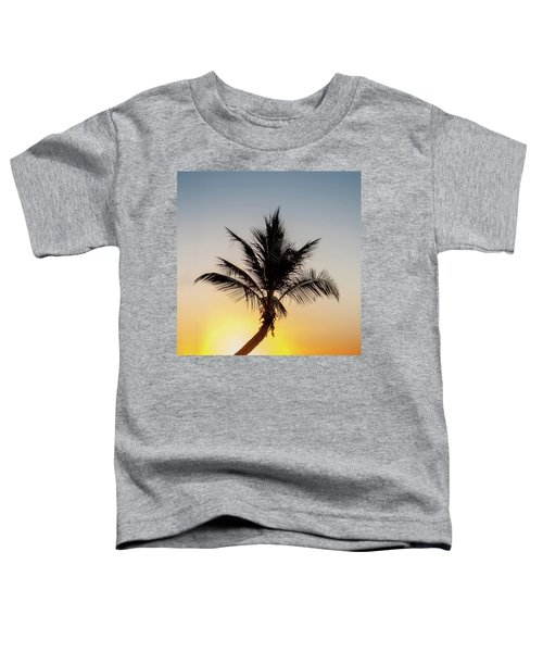 Sunset Palm Toddler T-Shirt
