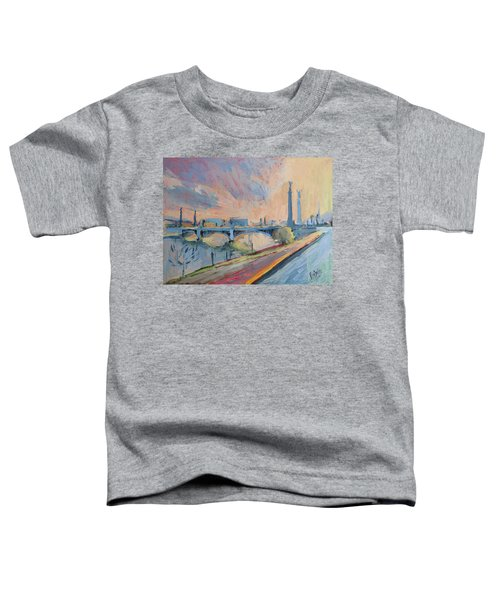 Sunset Pont Fragnee Toddler T-Shirt