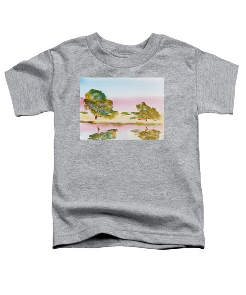 Reflections At Sunrise Toddler T-Shirt