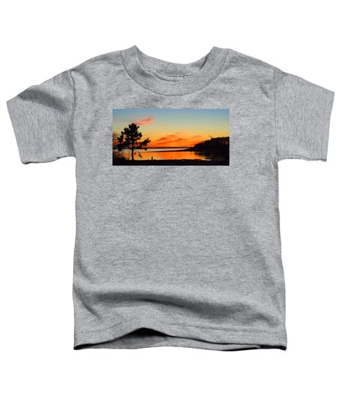 Sunset Serenity Toddler T-Shirt