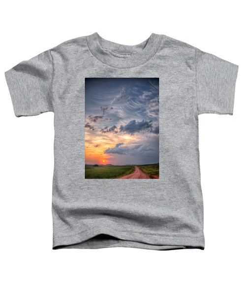 Sunshine And Storm Clouds Toddler T-Shirt