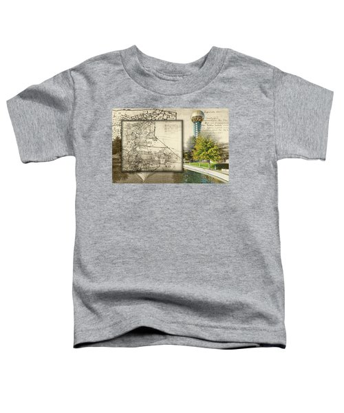 Sunsphere Mapped Toddler T-Shirt