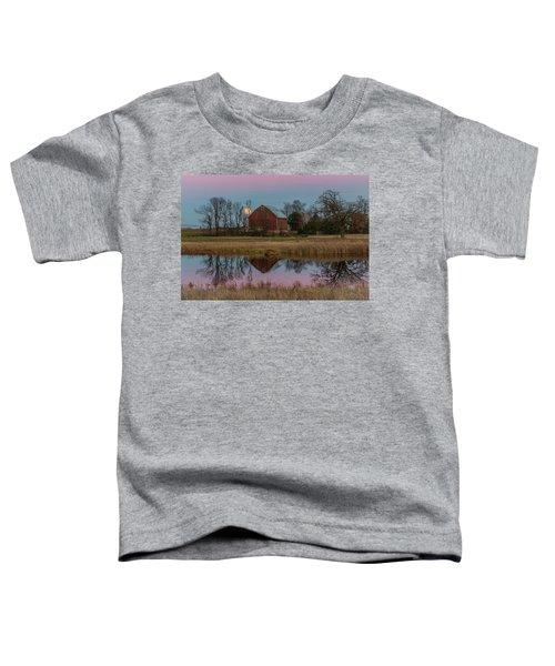 Super Moon And Barn Series #1 Toddler T-Shirt