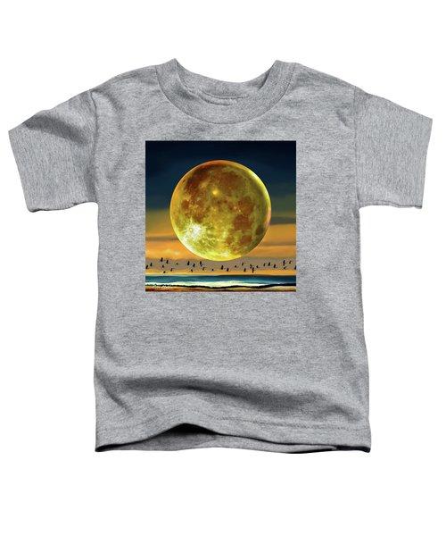 Super Moon Over November Toddler T-Shirt