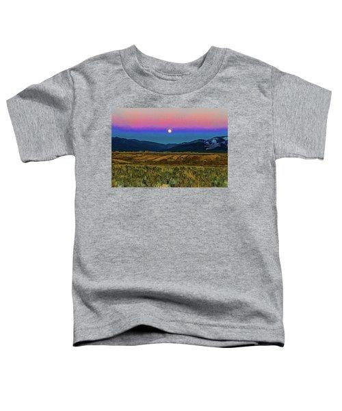 Super Moon Over Taos Toddler T-Shirt