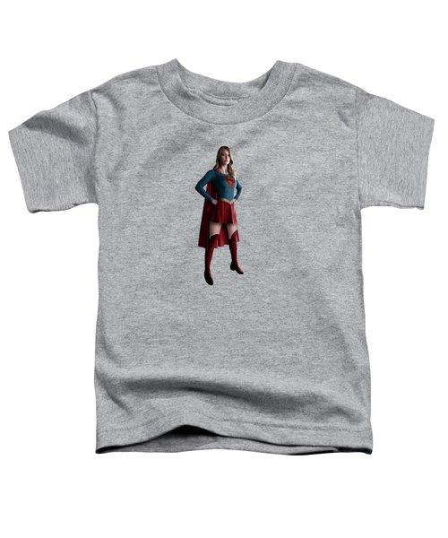 Supergirl Splash Super Hero Series Toddler T-Shirt