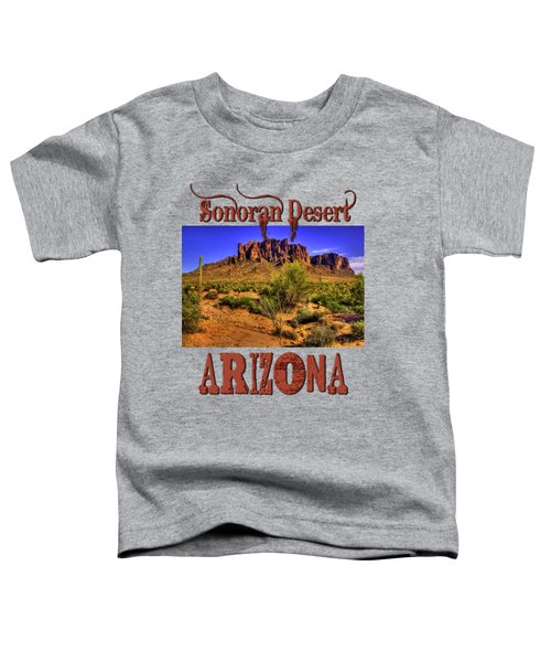 Superstition Mountain Late Afternoon Toddler T-Shirt