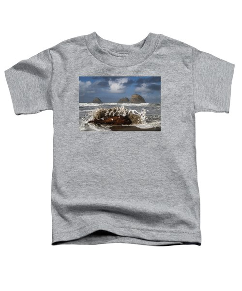 Surf And Three Arch Rocks Toddler T-Shirt
