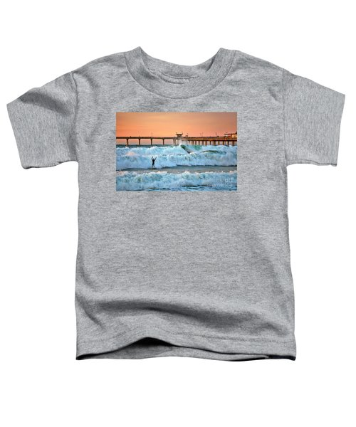 Surfer Celebration Toddler T-Shirt