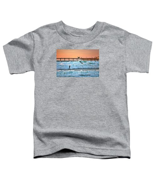 Surfer Celebration Toddler T-Shirt