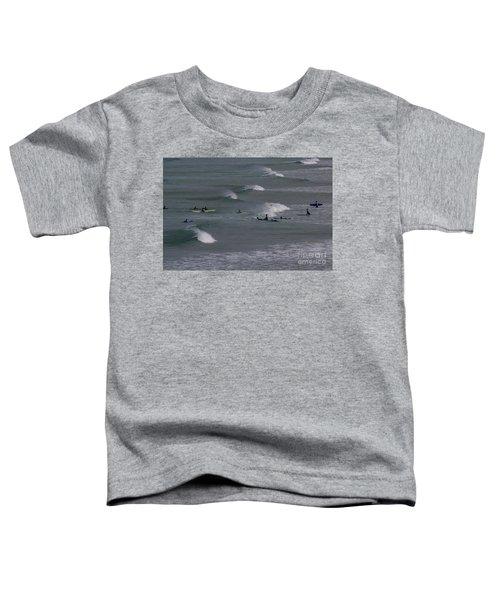 Photographs Of Cornwall Surfers At Fistral Toddler T-Shirt