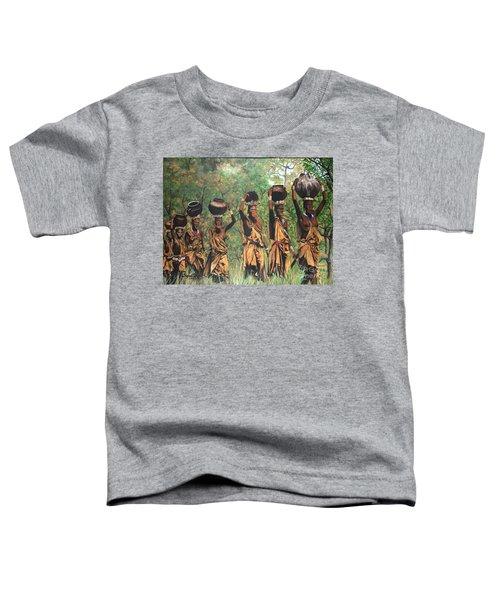 Blaa Kattproduksjoner        Surma Women Of Africa Toddler T-Shirt