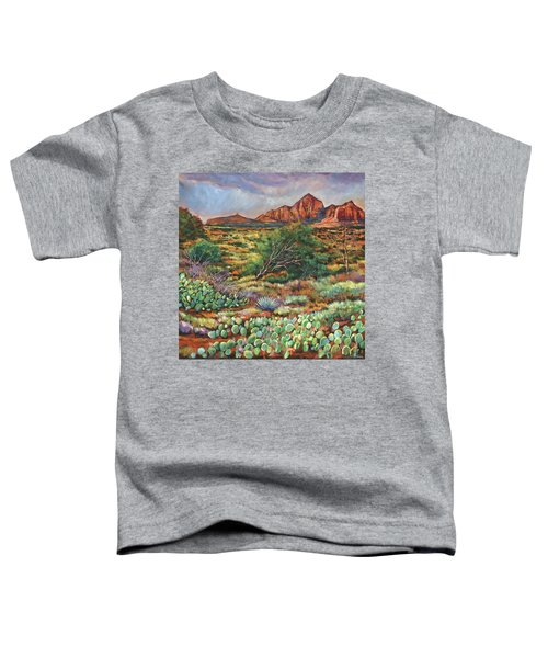 Surrounded By Sedona Toddler T-Shirt