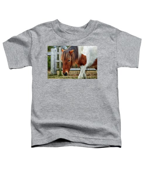 Susi Sole N2bhs-m Says Don't Fence Me In Toddler T-Shirt