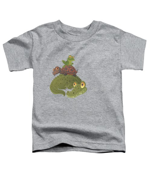 Swamp Squad Toddler T-Shirt by John Schwegel