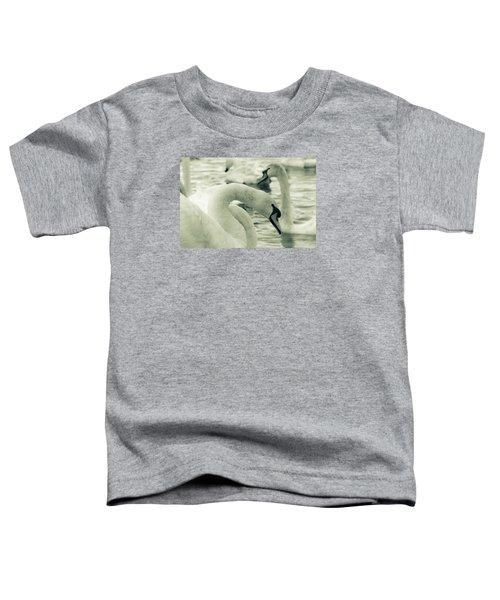 Swan In Water Toddler T-Shirt