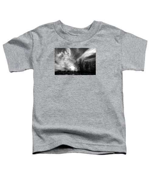 Sweeping Sky Toddler T-Shirt