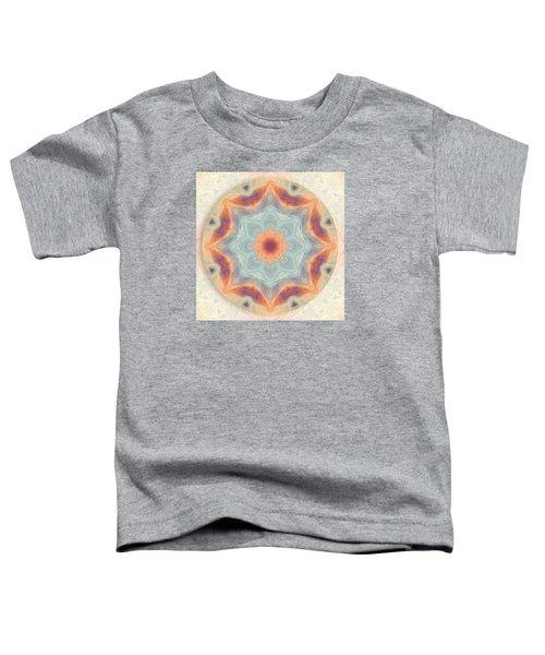 Swirls Of Love Mandala Toddler T-Shirt