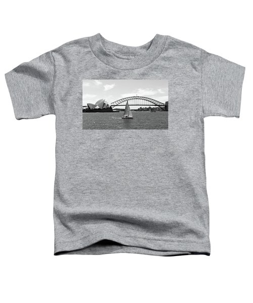 Sydney Harbour No. 1-1 Toddler T-Shirt by Sandy Taylor