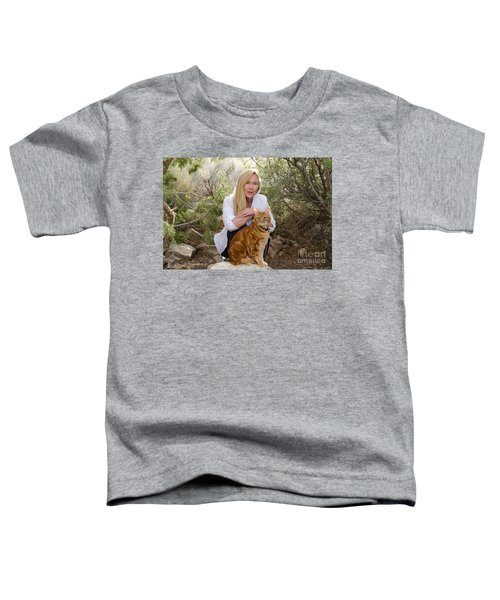 Tabasco And Molly On Meditation Rock Toddler T-Shirt