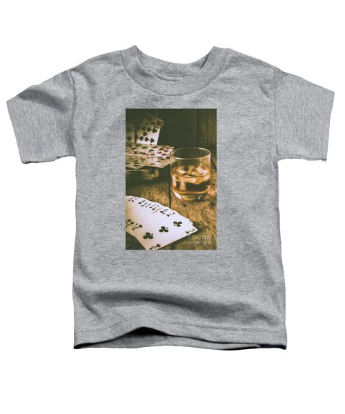 Table Games And The Wild West Saloon  Toddler T-Shirt