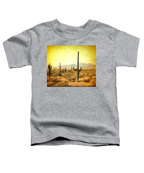 Table Moumtain Vintage Western Toddler T-Shirt
