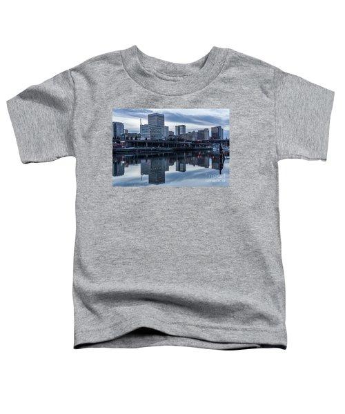 Tacoma Waterfront,washington Toddler T-Shirt
