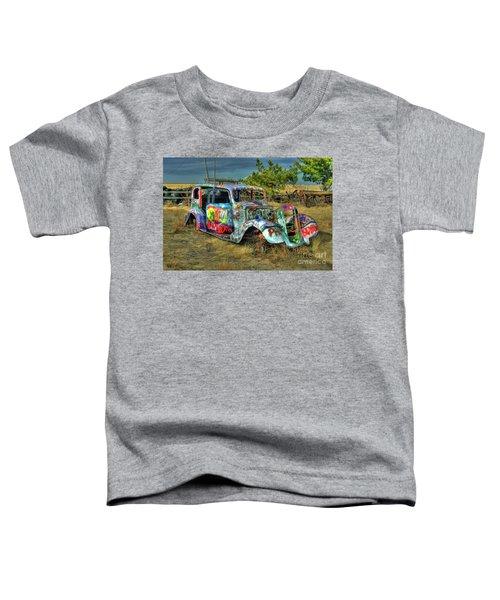 Tagged #3 Toddler T-Shirt