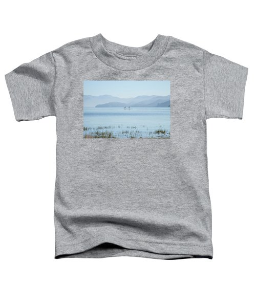 Tahoe Paddle Boarders Toddler T-Shirt