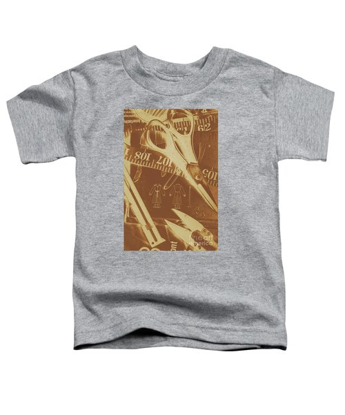 Tailor Art Toddler T-Shirt
