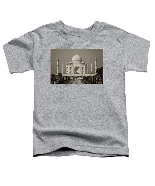 Taj Mahal Toddler T-Shirt by Hitendra SINKAR