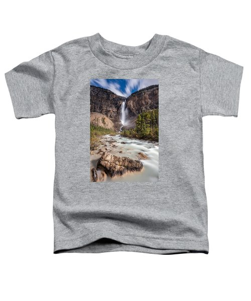 Takakkaw Falls   Toddler T-Shirt