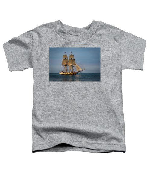 Tall Ship U.s. Brig Niagara Toddler T-Shirt