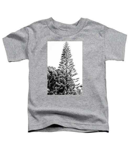 Tall Tree Bw - Lan11 Toddler T-Shirt