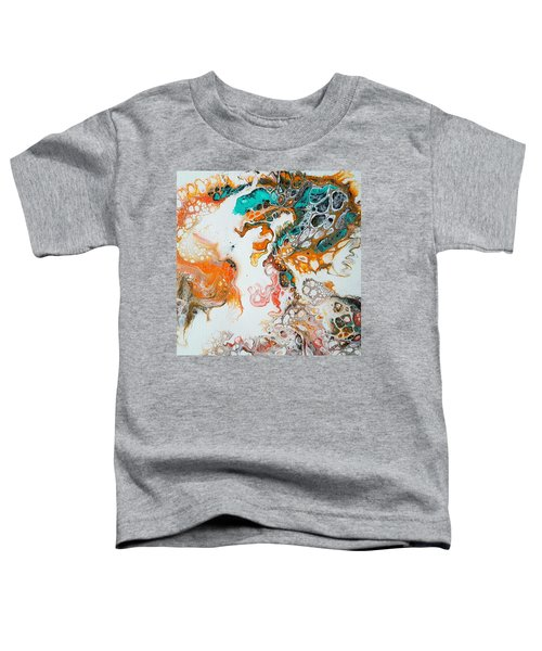 Tango With Turquoise Toddler T-Shirt
