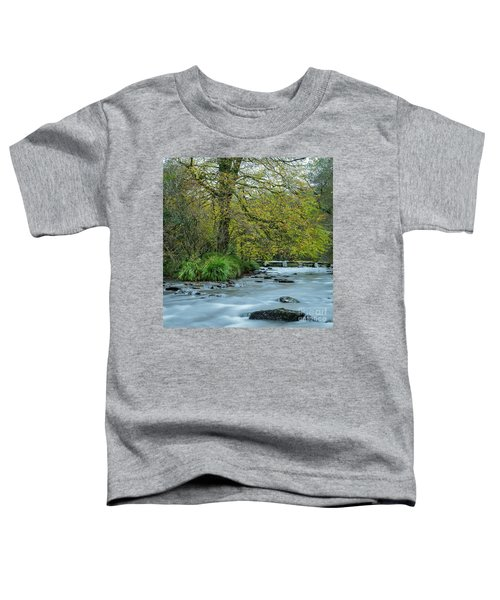 Tarr Steps Clapper Bridge Toddler T-Shirt