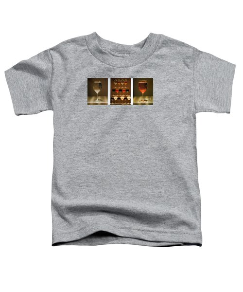 Toddler T-Shirt featuring the photograph Tears And Wine by James Lanigan Thompson MFA