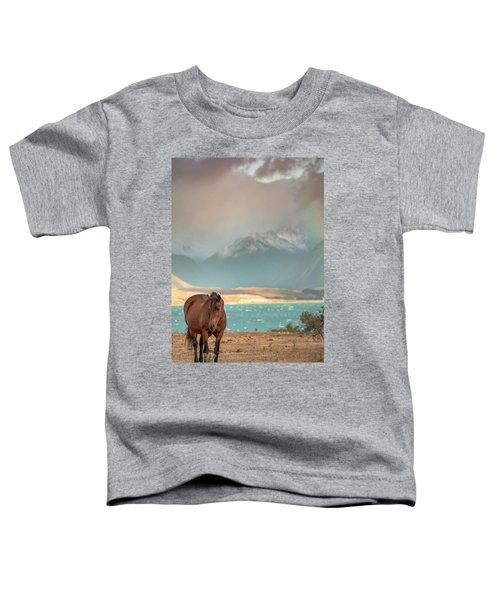 Tekapo Horse Toddler T-Shirt