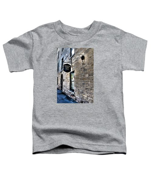 Mendon Town Hall Toddler T-Shirt